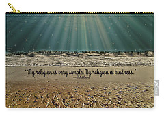 My Religion Carry-all Pouch by Trish Tritz