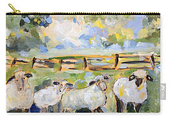 My Sheep Will Follow Me Carry-all Pouch by Teresa Tilley