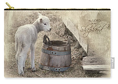 Carry-all Pouch featuring the photograph My Shepherd by Robin-Lee Vieira