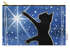 My Shinning Star - Christmas Cat Carry-all Pouch