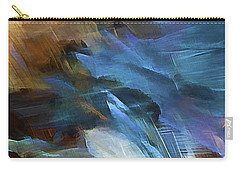 Carry-all Pouch featuring the digital art My Soul Finds Rest In God by Margie Chapman