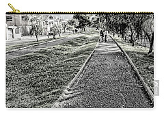 Carry-all Pouch featuring the photograph My Street II by Al Bourassa