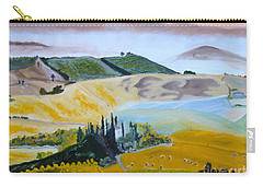 My Tuscan Valley View Carry-all Pouch