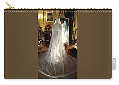 Carry-all Pouch featuring the photograph My Wedding Gown by Gary Smith