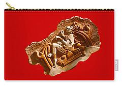Carry-all Pouch featuring the digital art Myan Wall Art D by Francesca Mackenney