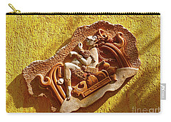 Carry-all Pouch featuring the photograph Myan Wall Art by Francesca Mackenney