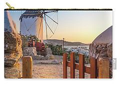 Mykonos, Greece Carry-all Pouch