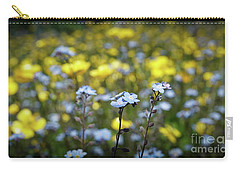 Myosotis With Yellow Flowers Carry-all Pouch