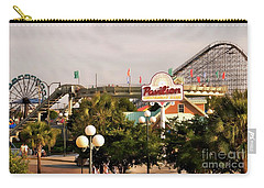 Myrtle Beach Pavillion Amusement Park Carry-all Pouch by Bob Pardue