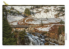 Myrtle Falls, Mt Rainier Carry-all Pouch