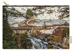 Myrtle Falls, Mt Rainier Carry-all Pouch by Tony Locke
