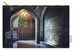 Mysterious Corridor In Persian Mosque Carry-all Pouch