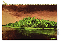 Mysterious Island Carry-all Pouch