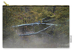 Carry-all Pouch featuring the photograph Mystery In The Fall by Skip Willits