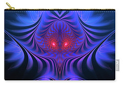 Carry-all Pouch featuring the digital art Mystery by Jutta Maria Pusl