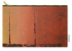 Mystic Bay Triptych 3 Of 3 Carry-all Pouch