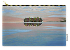 Carry-all Pouch featuring the painting Mystic Island by Kenneth M  Kirsch