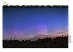 Carry-all Pouch featuring the photograph Mystic Lights by Cat Connor