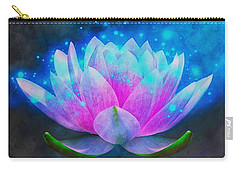 Mystic Lotus Carry-all Pouch by Anton Kalinichev