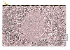 Carry-all Pouch featuring the digital art Mystic Pink. Art by Oksana Semenchenko