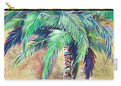 Mystic Palm Carry-all Pouch by Kristen Abrahamson