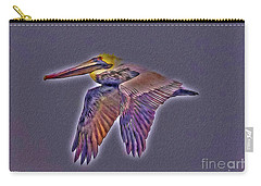 Mystical Brown Pelican Soaring Spirit Carry-all Pouch