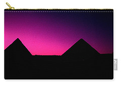 The Pyramids At Sundown Carry-all Pouch