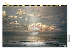 Carry-all Pouch featuring the photograph Mystical Moon by Judy Hall-Folde