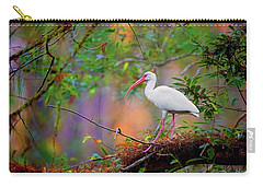 Mystical White Ibis Carry-all Pouch