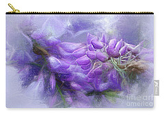 Carry-all Pouch featuring the photograph Mystical Wisteria By Kaye Menner by Kaye Menner