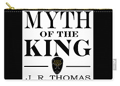 Carry-all Pouch featuring the digital art Myth Of The King Cover by Jayvon Thomas