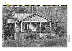 Carry-all Pouch featuring the photograph N C Ruins 1 by Mike McGlothlen
