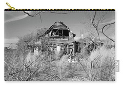 Carry-all Pouch featuring the photograph N C Ruins 2 by Mike McGlothlen