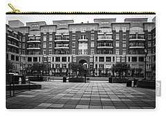 N. Church Condos In Black And White Carry-all Pouch