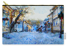 Naantali Old Town In Winter Carry-all Pouch