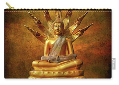 Carry-all Pouch featuring the photograph Naga Buddha by Adrian Evans
