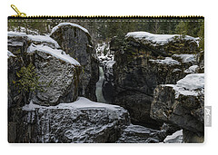 Nairn Falls, Winter Carry-all Pouch