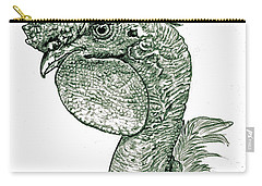 Naked Neck Rooster Carry-all Pouch