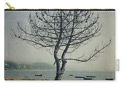 Carry-all Pouch featuring the photograph Naked Tree by Marco Oliveira
