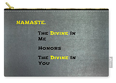 Namaste #1 Carry-all Pouch