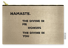 Namaste #2 Carry-all Pouch
