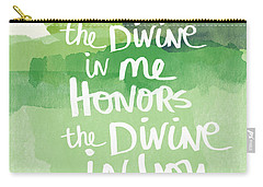 Namaste- Watercolor Card Carry-all Pouch