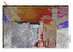 Carry-all Pouch featuring the mixed media Name This Piece by Tony Rubino