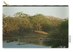 Namibian Waterway Carry-all Pouch by Ernie Echols