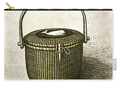 Nantucket Basket Carry-all Pouch by Charles Harden
