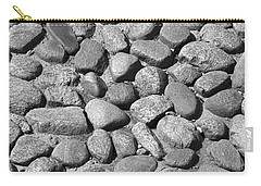 Nantucket Cobblestones Carry-all Pouch by Charles Harden