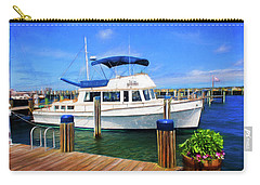 Nantucket Harbor Safe Harnor Series 52 Painted Carry-all Pouch