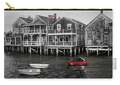Nantucket In Bw Series 6139 Carry-all Pouch