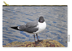 Carry-all Pouch featuring the photograph Bird by Glenn Gordon