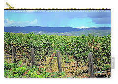 Carry-all Pouch featuring the photograph Napa by Corinne Rhode